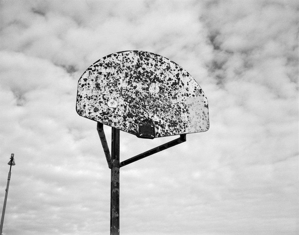 Robert Taylor Homes Basketball Backboard ©2000