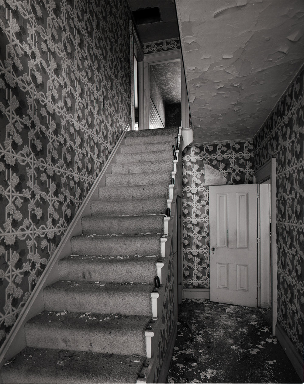 William Patrick Farmstead Stairway Illinois 2001