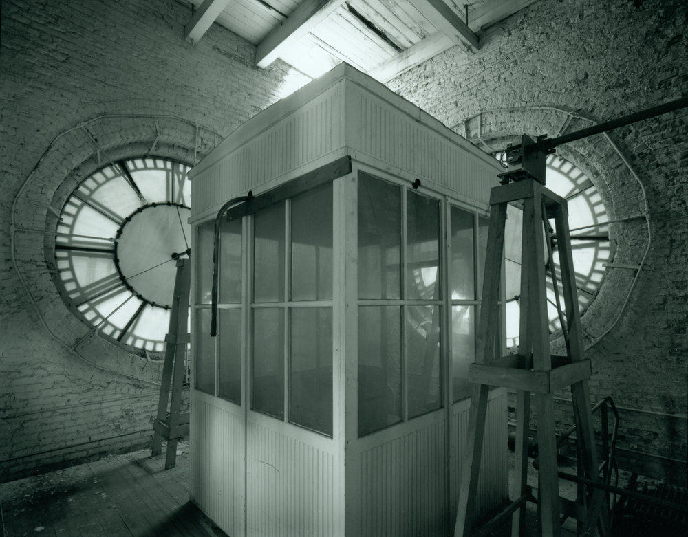 Dearborn Station Clock Tower Interior ©1979