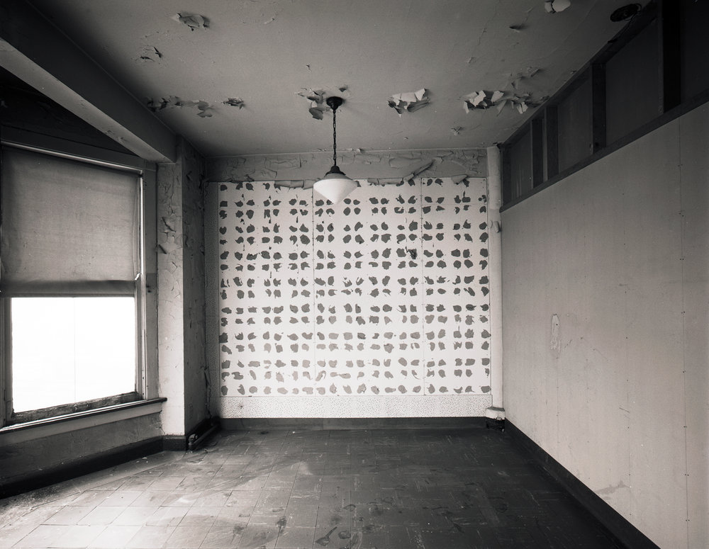 Polka Dots on Wall  Manhattan ©1980