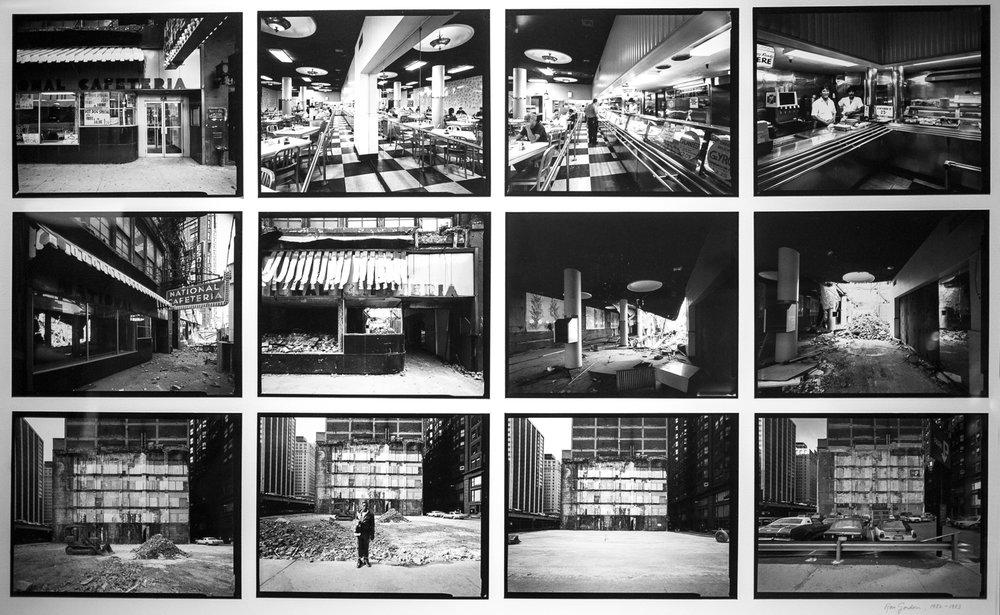 National Cafeteria Van Buren Street 1983
