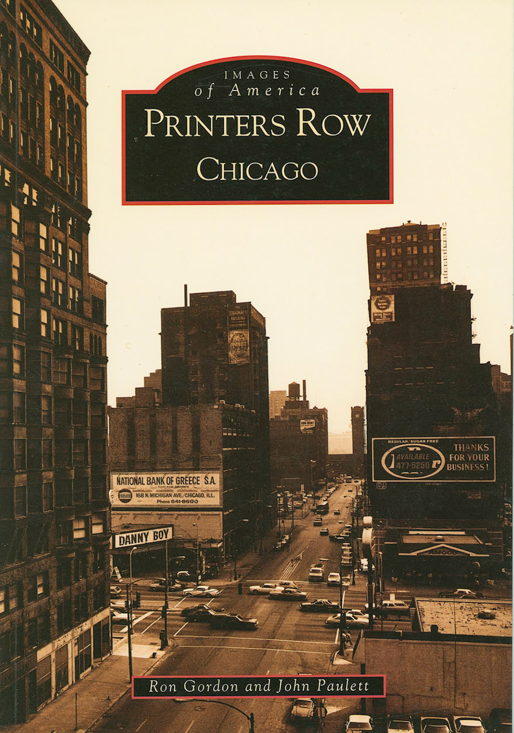 Printers Row Chicago Arcadia Publications with Kohn Paulett 2003