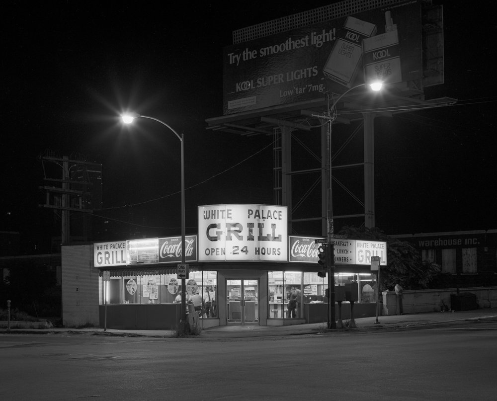 White Palace Grill Roosevelt and Canal  1982