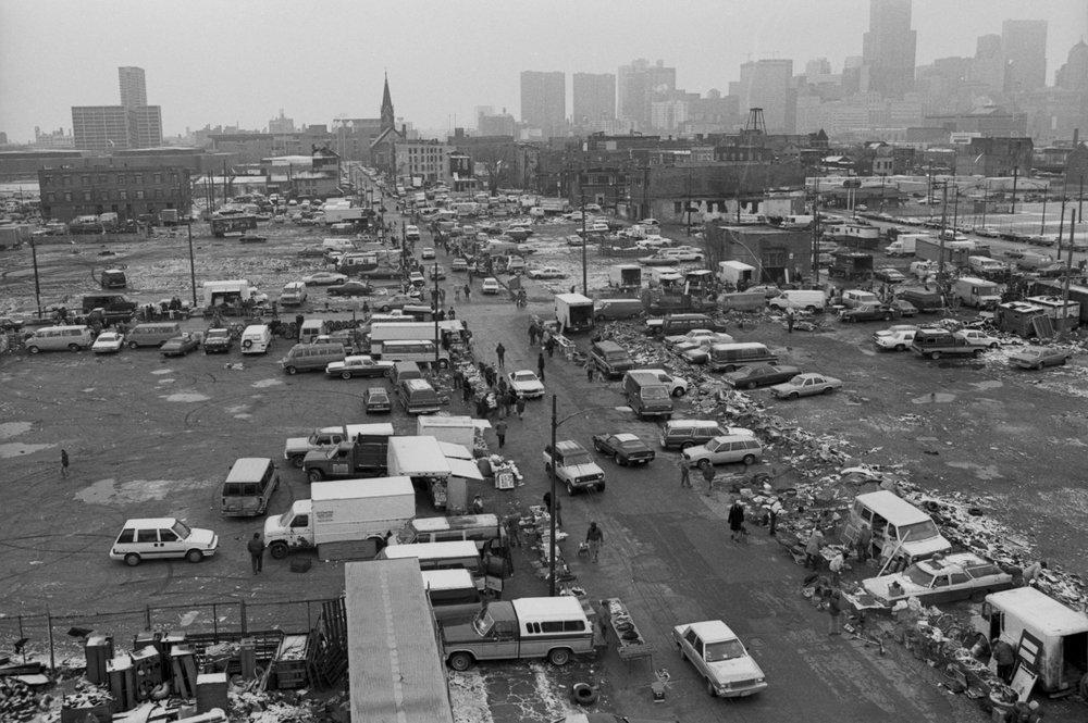 Original Maxwell Street Market  1987