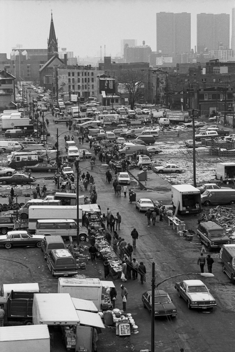 Last Days of Old Maxwell Market  1987