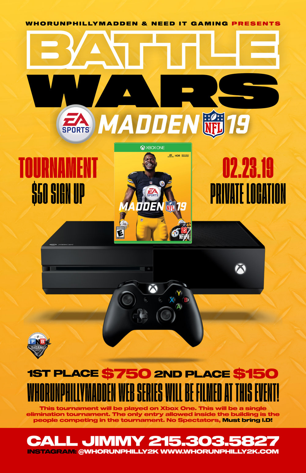 WhoRunPhilly2K 2K & Madden NFL Tournaments In Philly