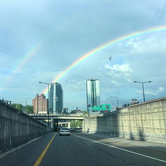 Double rainbow 🌈🌈