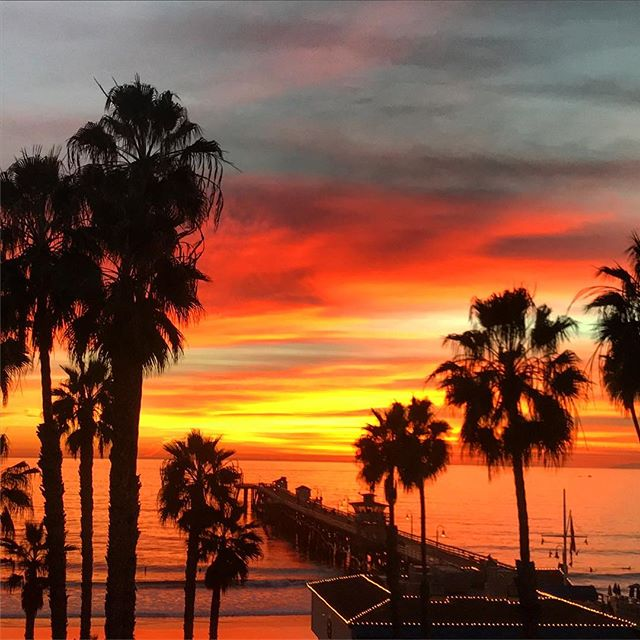 Summer in San Clemente is great but we'll let you in on a little secret. Winter is even better! Come see for yourself. • • • #casatropicana #sanclemente #socality #southcounty #oc #winter #sunsets #nature #saltlife #paradise