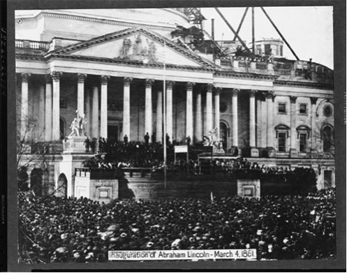 Inaugration Day, 1861