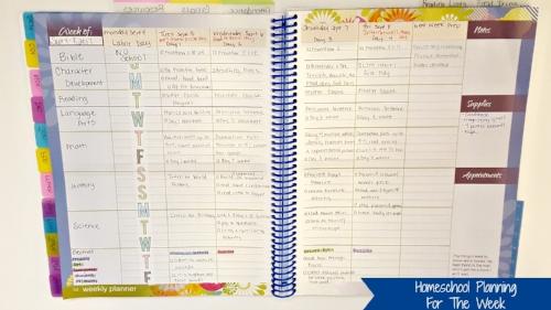homeschool planning for the week.jpg