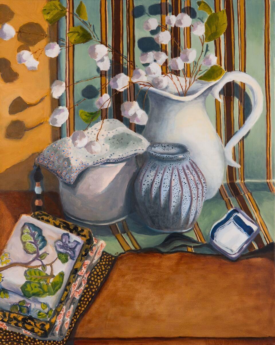 TJarzynski-Still Life with Flowers and Fabric .jpg