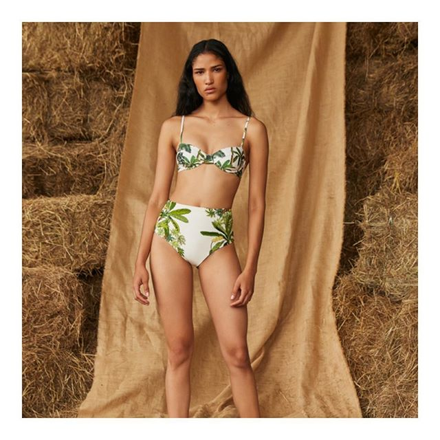 #AguabyAguaBendita trunkshow live on @modaoperandi today! 🌼🍃🦜🌵🌻 Shop the new luxury line of Colombian swimwear and resort pieces today! Photographed by @somefriends.co