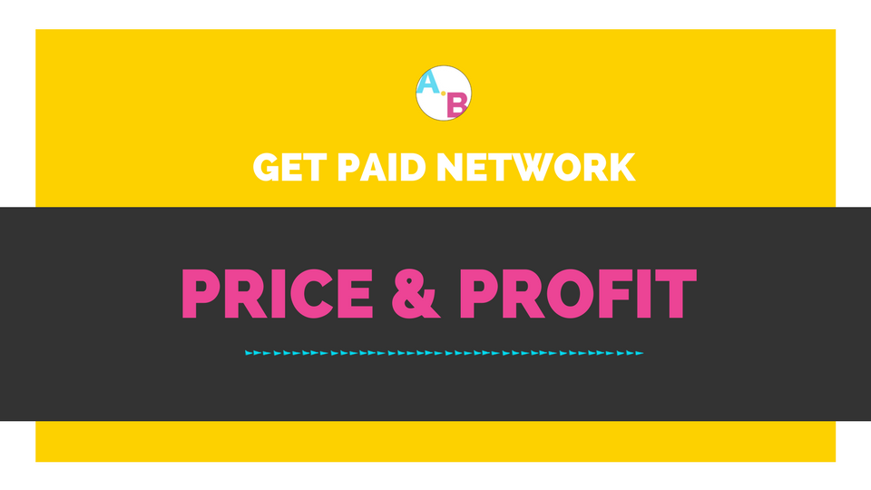 Create price packages that are profitable. -