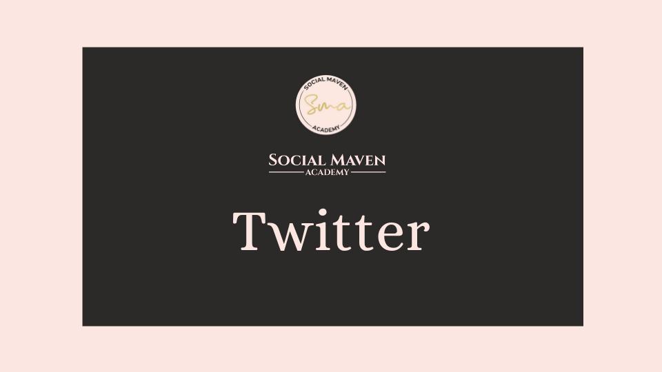 Learn Twitter Marketing -