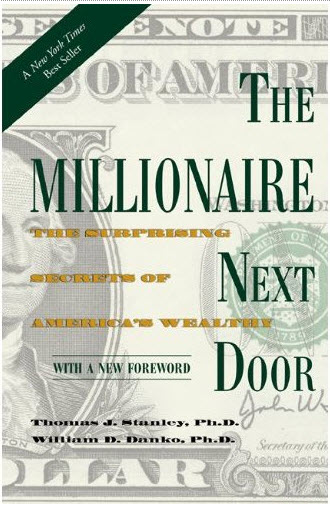 The Millionaire Next Door by Stanley, Ph.D. and Danko, Ph.D. - Topic: Personal finance, wealth statistics