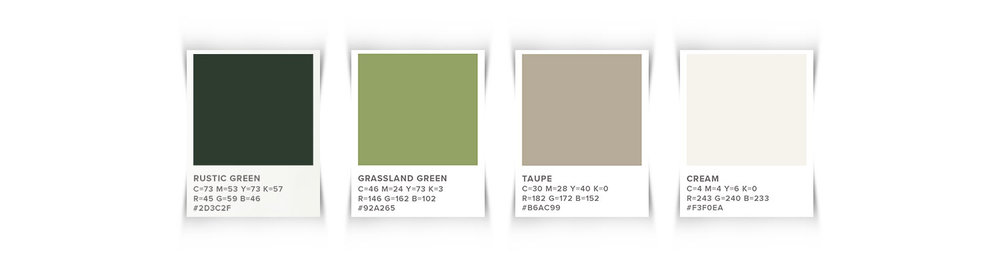 Call Me Sue Brand Design Color Palette