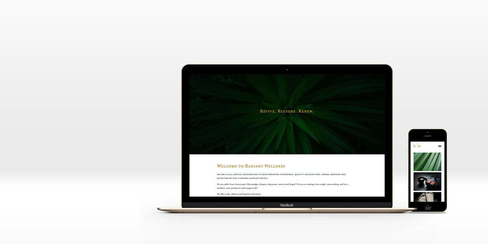 Minimal + creative green and natural web design by Susan Krajan Levitt | callmesue.com