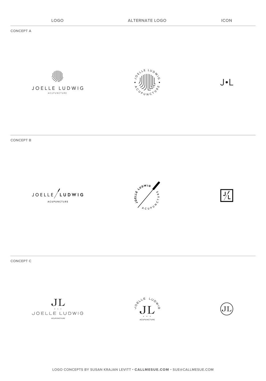 Susan Krajan Levitt | Brand + Web Designer | callmesue.com | Logo Design