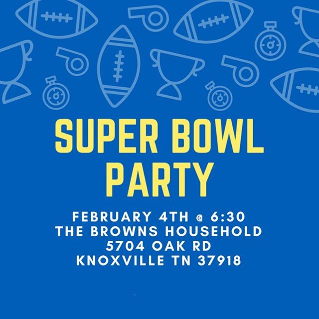 Whether you're cheering for the Eagles or .... that other team 😉 come join us for a Super Bowl Party this Sunday! #comeforthecommercials