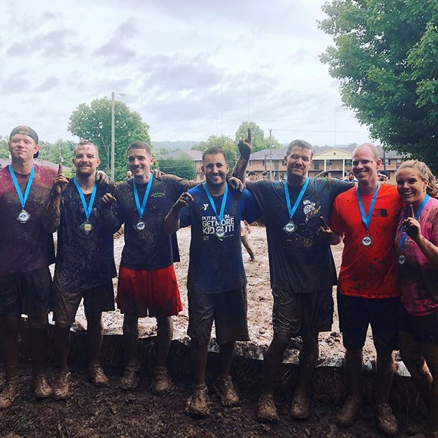 Some of our FC Young Adults brought home championship medals from mud ball today!