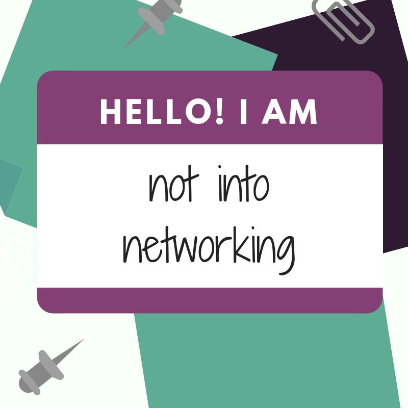 Networking and your personal brand.