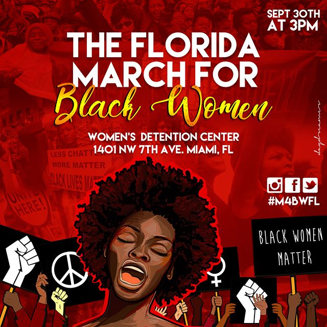 Solidarity is supporting, uplifting, and making space for Black women to discuss their specific needs as racial and social justice affects us all differently.  Black women (ALL BLACK WOMEN) , you matter, your voices matter, your stories matter, your experiences matter and on September 30 we will come together to be heard and seen. ✊🏿✊🏾✊🏽✊🏼 #M4BW #M4BWFL
