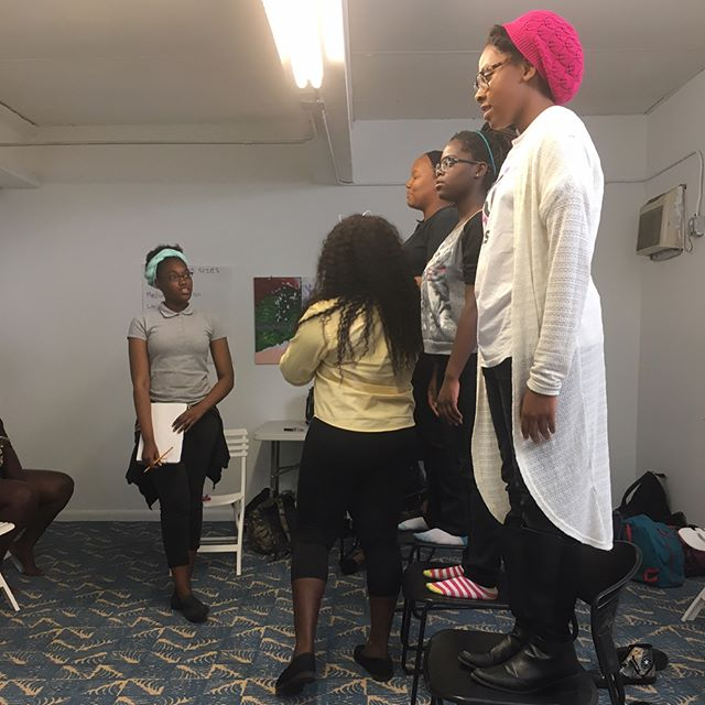 Magic happens when Black girls convene. #BGMMia prepping for the May 18th presentation! . . . Be sure to RSVP TODAY to witness Black girls share their experiences in school through dance, singing, art, and more. Link is in bio. Seating is limited. You must be registered to attend.