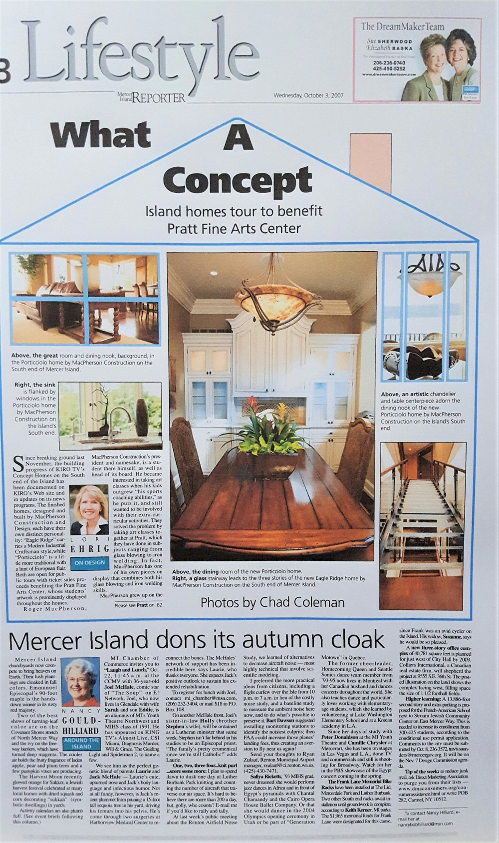 Mercer Island Reporter - Project: Komo Concept HomeYear: 2007