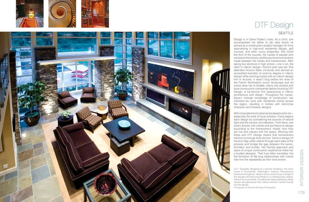 Feature On DTF Design In Pacific Northwest Homes By Panache