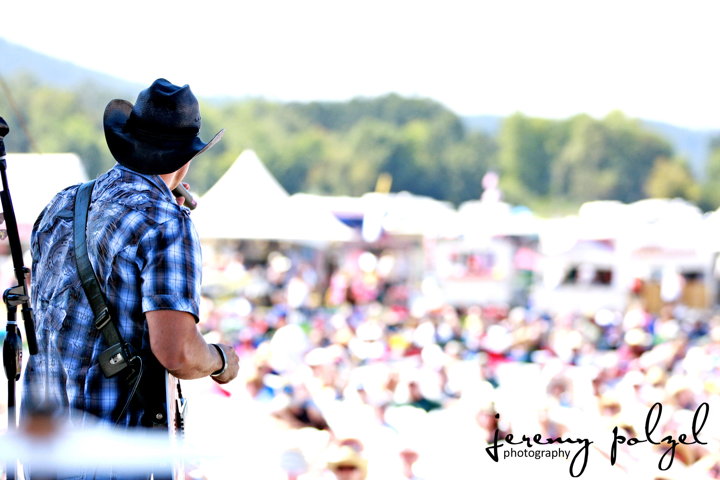 Chance McKinney at The Willamette Country Music Festival