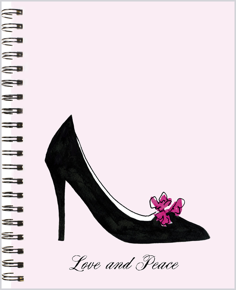 LittleNoteCard_ClassicBlackPump_Journal