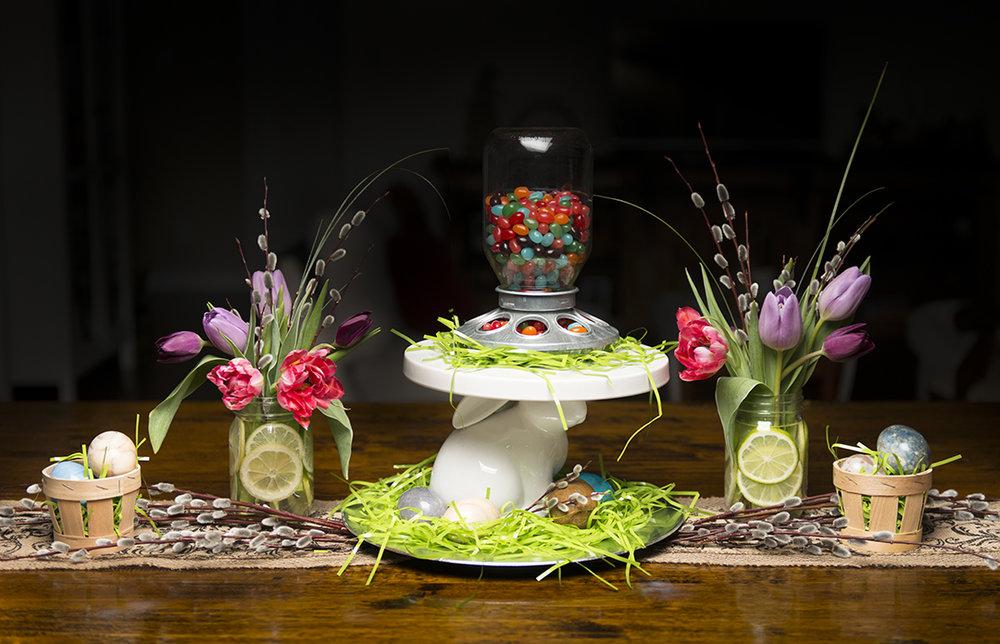 Hiya Peeps! A simple Easter Centerpiece