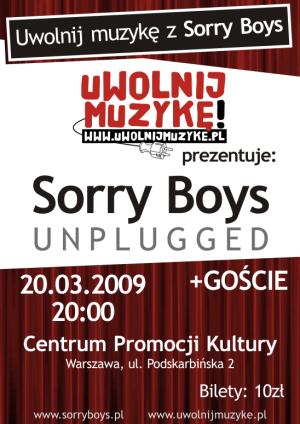 Uwolnij muzykę z Sorry Boys