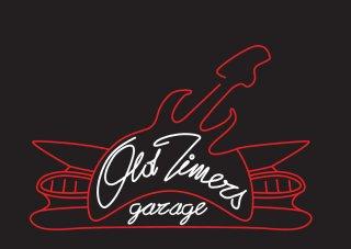 Old Timers Logo New Black