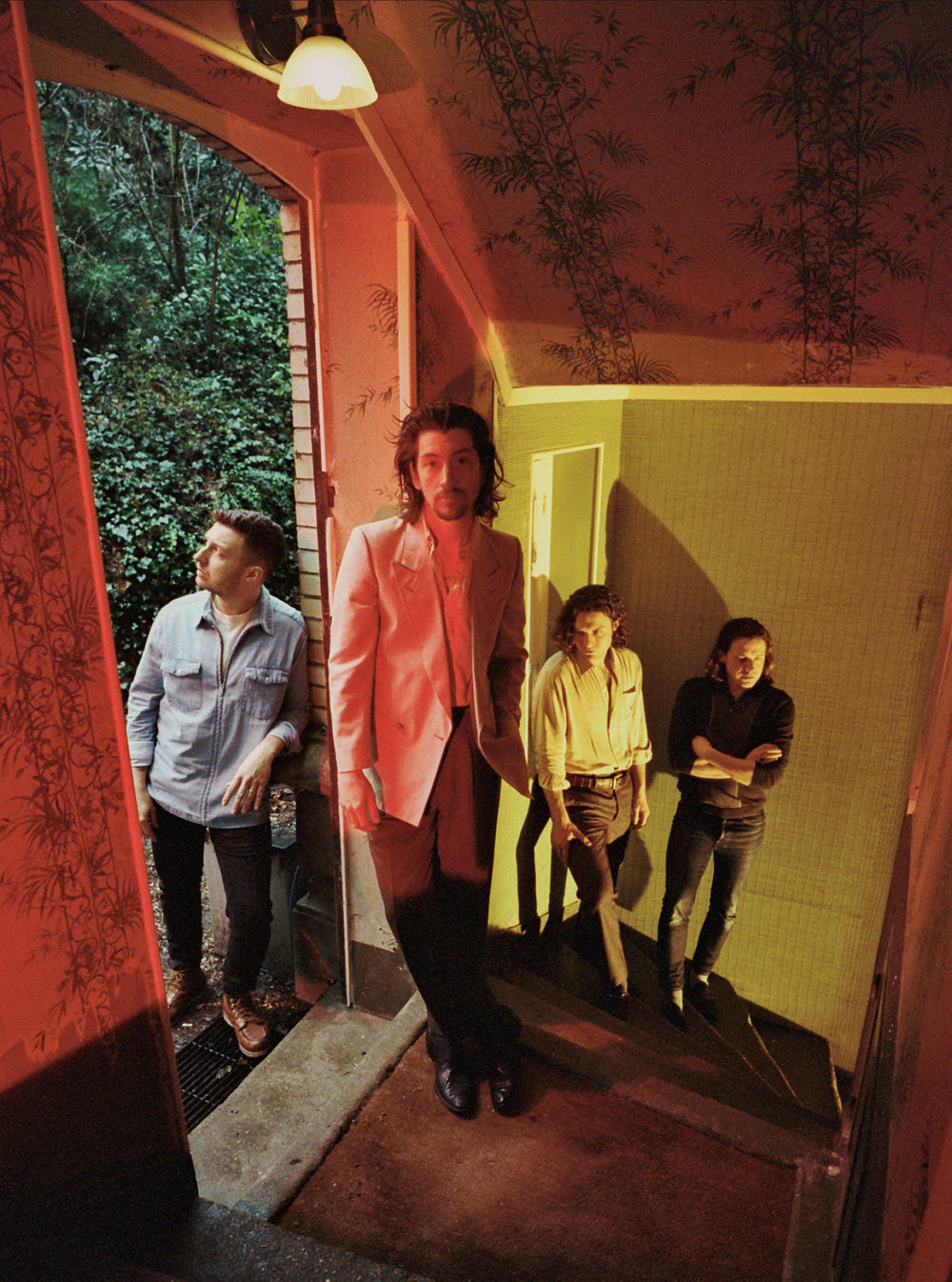 Arctic Monkeys fot. Michael Zackery