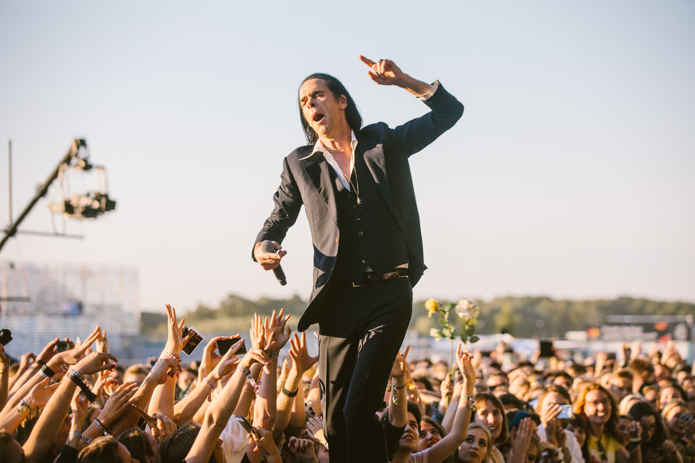 Nick Cave and The Bad Seeds, fot. Michał Murawski