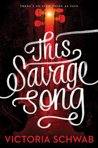 This Savage Song Book Cover