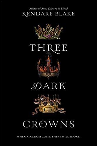 Three Dark Crowns Book Cover