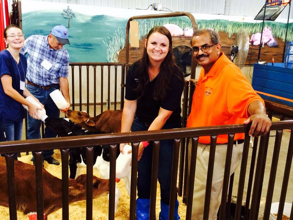 Dr. Lionel Dawson mentor through veterinary school at OSU