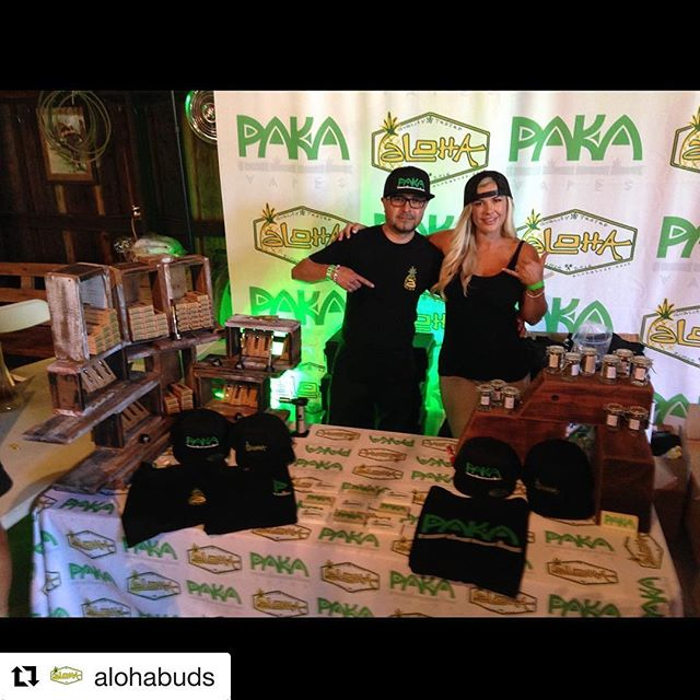 #Repost @alohabuds with @repostapp ・・・ Come visit @pakavapes & @alohabuds booth @medz4less_events #santamaria ! #420sesh #420🍁