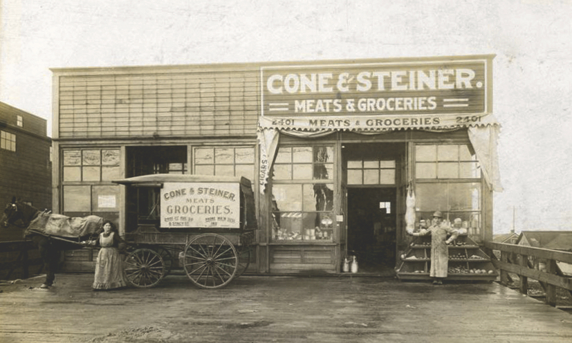 The original store was located in what is today Seattle's SoDo neighborhood.