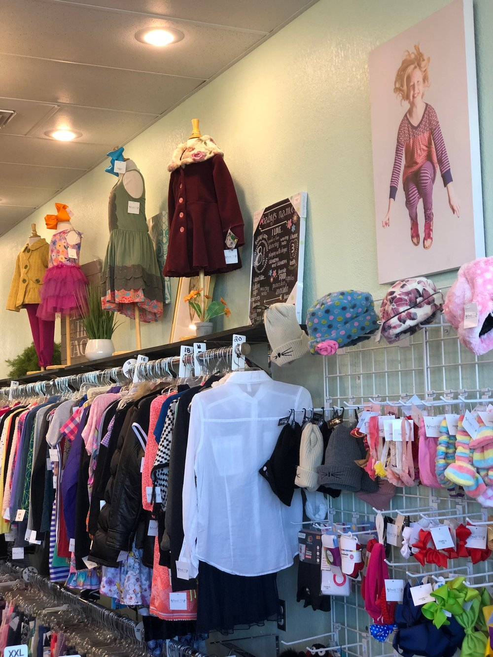 50681e27 Our Store - We carry new and gently used clothing from size preemie to  youth 16