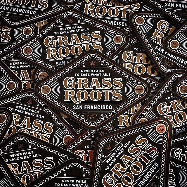 Slaps on slaps on slaps! Sexy metallic stickers for @grassroots_sf. Never fails to ease what ails... . . . . . . . . #cannabisdesign #cannabiscommunity #maryjane #bayareastoners #sanfrancisco #weedporn #weedslaps #420slaps #cannabisfamily #weedfam #slaps #stickers #cannabisstickers #cannabisbranding #cannabiscopywriter #californiacannabis #tgif #weedrules #wfayo #dankslapz #dank #dankslaps