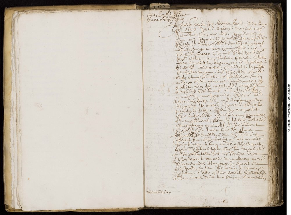 Last Will of Petrus Stuyvesant (1639) - Read an English translation of the will Stuyvesant created in Amsterdam before his ocean voyage to New Netherland.