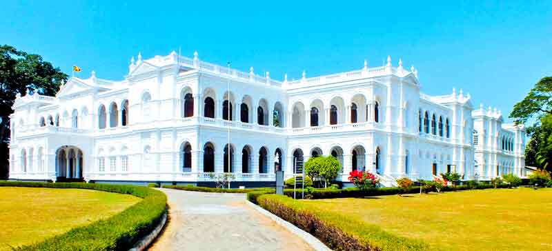 The magnificent colonial building