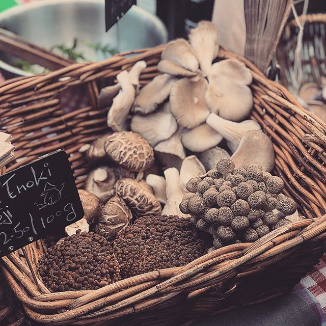 Loving the fresh produce on @broadwaymarket and the sun 🌞 🍄 #mushroomlover #mushrooms #farmersmarket #marketsoflondon #broadwaymarket