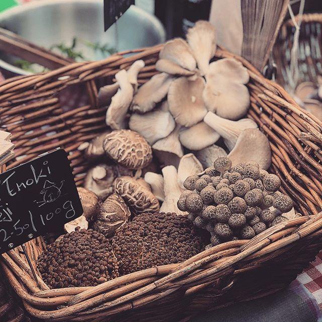 Loving the fresh produce on @broadwaymarket and the sun 🌞 🍄 #mushroomlover #mushrooms #farmersmarket #marketsoflondon #broadwaymarket