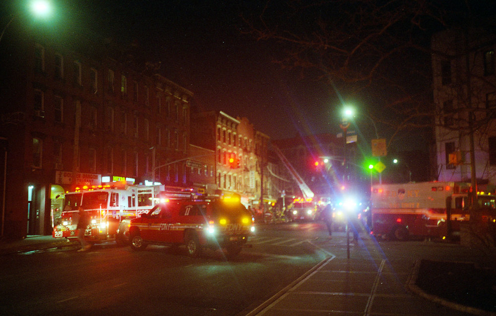 Fire In Brooklyn
