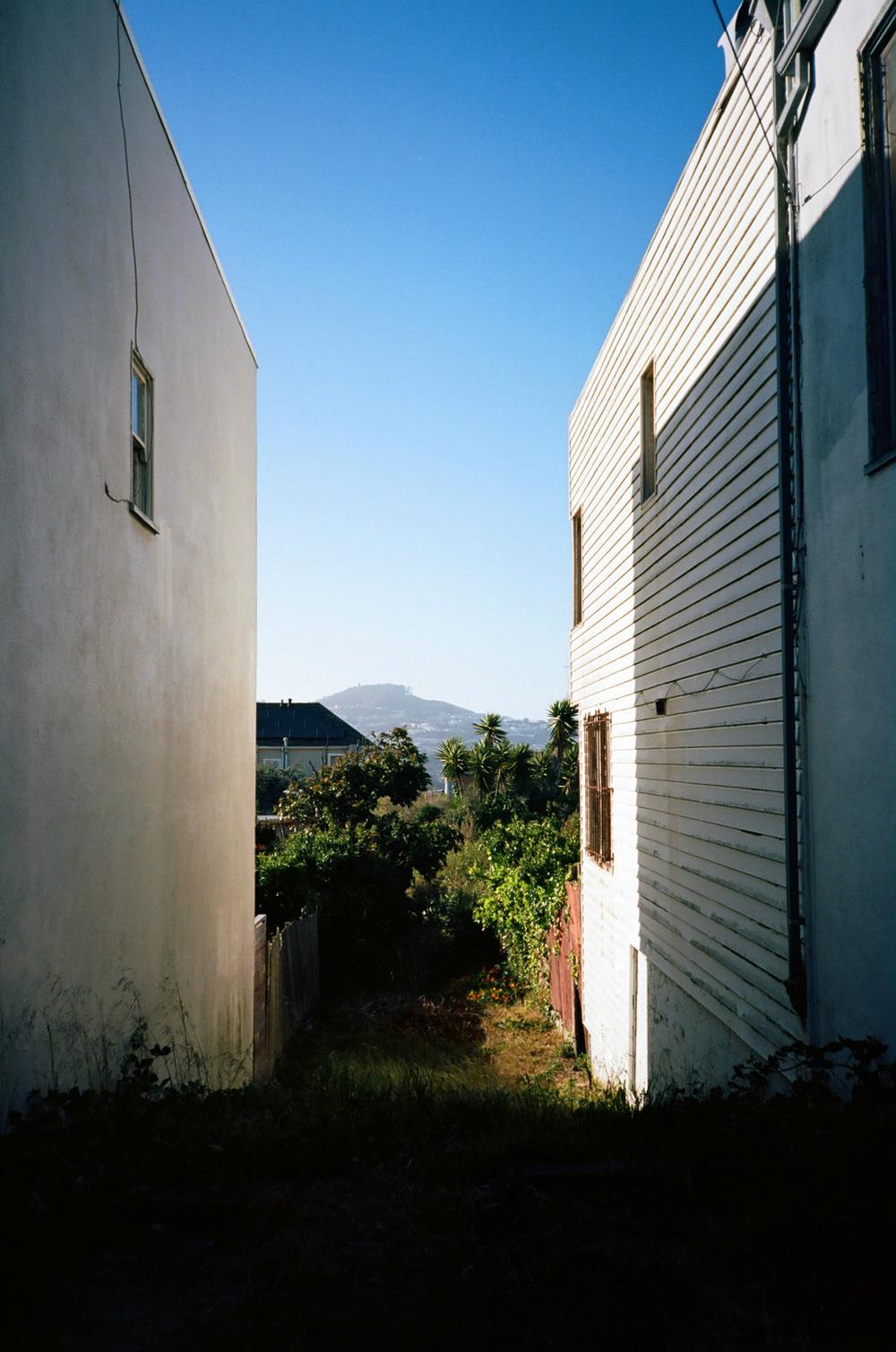 Space Between Houses