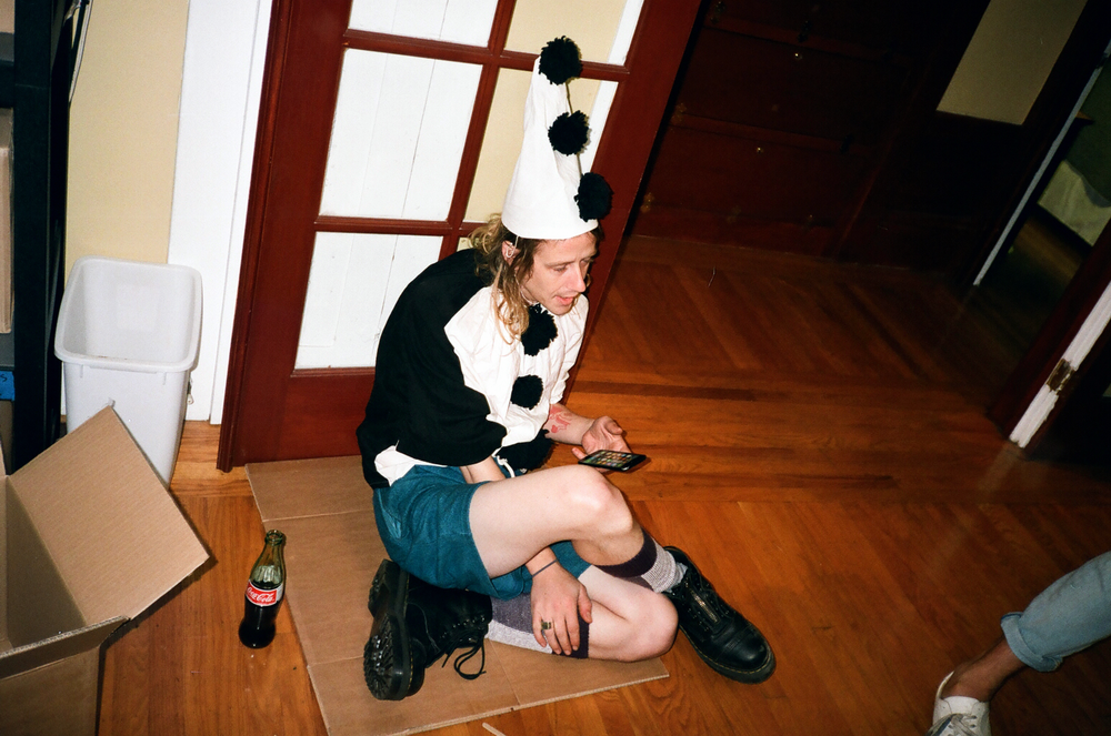 Christopher Owens: Sitting On Cardboard